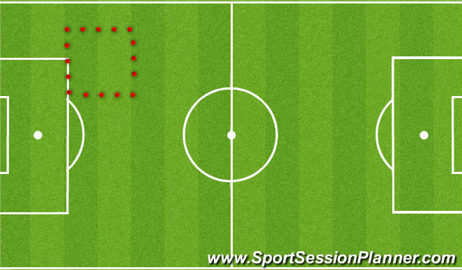 Football/Soccer Session Plan Drill (Colour): Funfutworks  passing