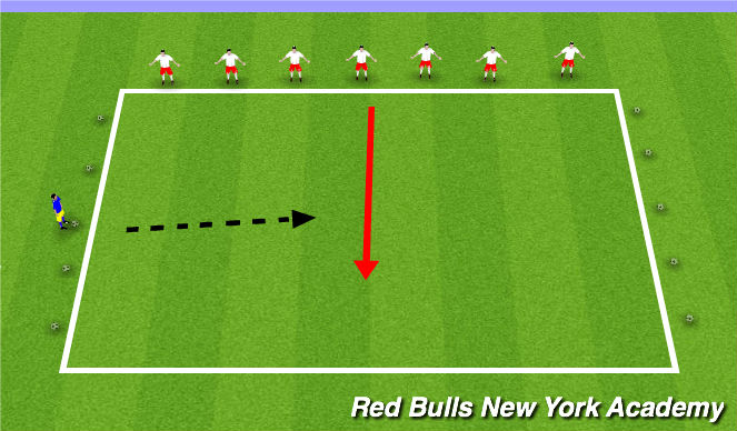 Football/Soccer Session Plan Drill (Colour): Man Theme III