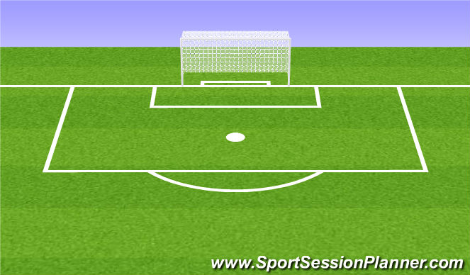 Football/Soccer Session Plan Drill (Colour): Structured Cool Down