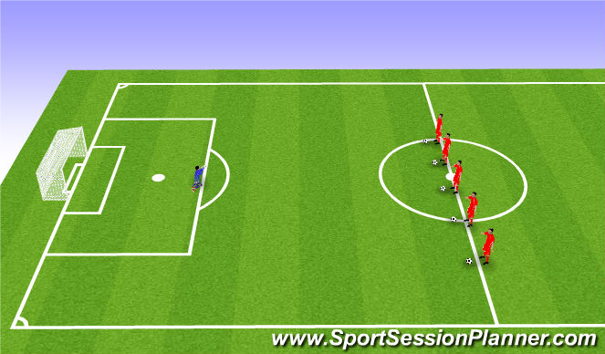 Football/Soccer Session Plan Drill (Colour): Fun Game