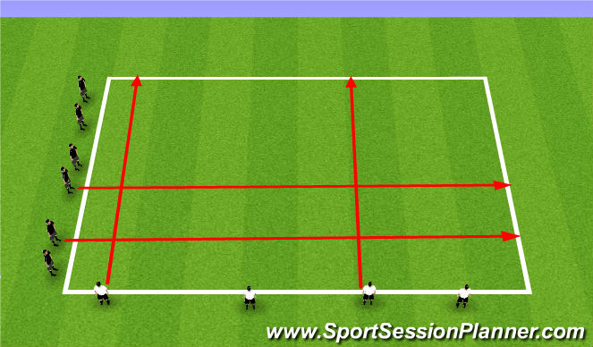 Football/Soccer Session Plan Drill (Colour): WU