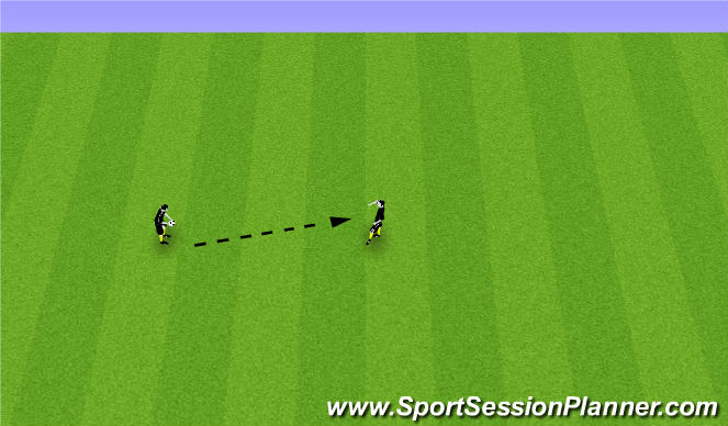 Football/Soccer Session Plan Drill (Colour): Individual