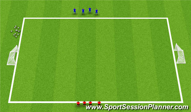 Football/Soccer Session Plan Drill (Colour): Activity 2: Numbers Game