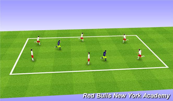 Football/Soccer Session Plan Drill (Colour): Catapillar Tag