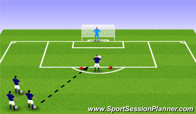 Football/Soccer Session Plan Drill (Colour): ADP Gu9's