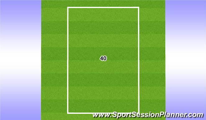 Football/Soccer Session Plan Drill (Colour): 40