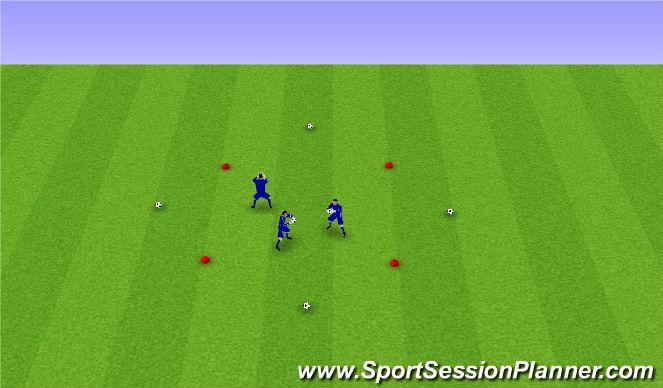 Football/Soccer Session Plan Drill (Colour): Pantalla 1
