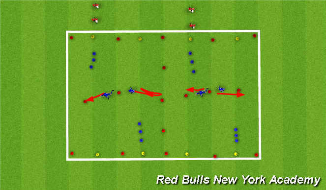 Football/Soccer Session Plan Drill (Colour): maih theme part 2
