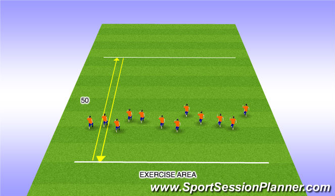 Football/Soccer Session Plan Drill (Colour): Fitess Training