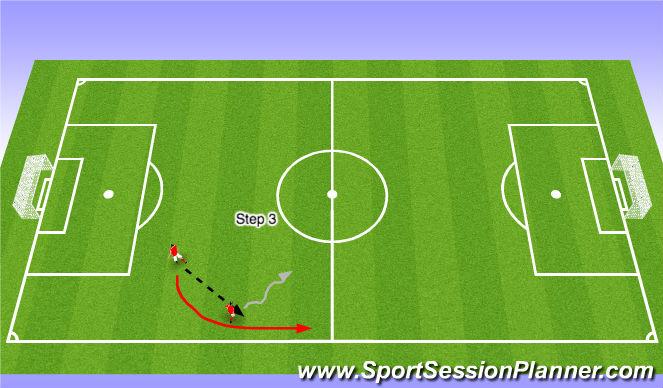Football/Soccer Session Plan Drill (Colour): GU9's `ADP Aug 11th