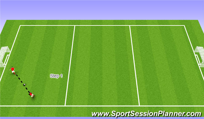 Football/Soccer Session Plan Drill (Colour): GU9's `ADP Aug 11th