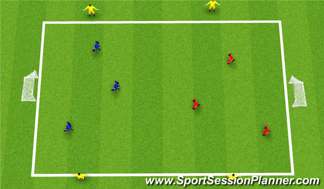 Football/Soccer Session Plan Drill (Colour): Skill: