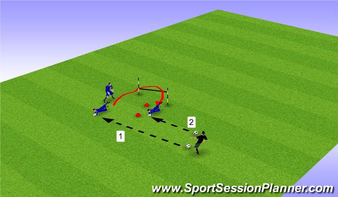 Football/Soccer Session Plan Drill (Colour): Pantalla 3