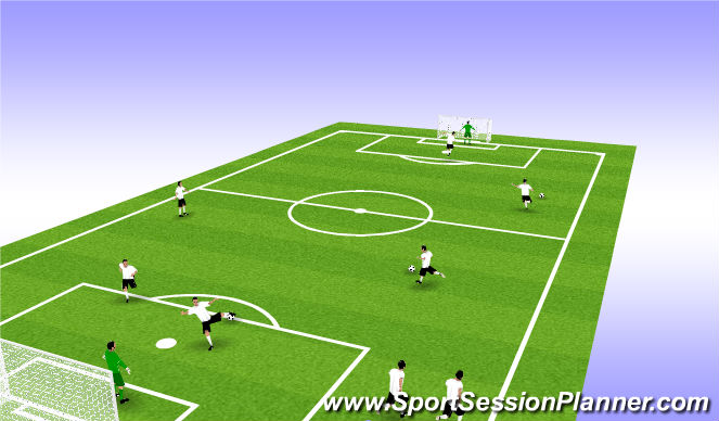 Football/Soccer Session Plan Drill (Colour): Indivdual Work