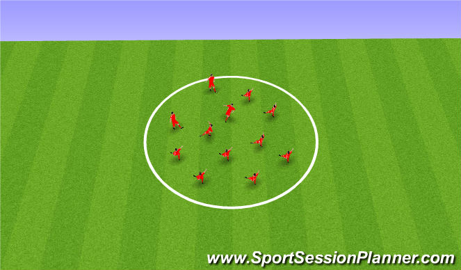 Football/Soccer Session Plan Drill (Colour): Дин.Раз.