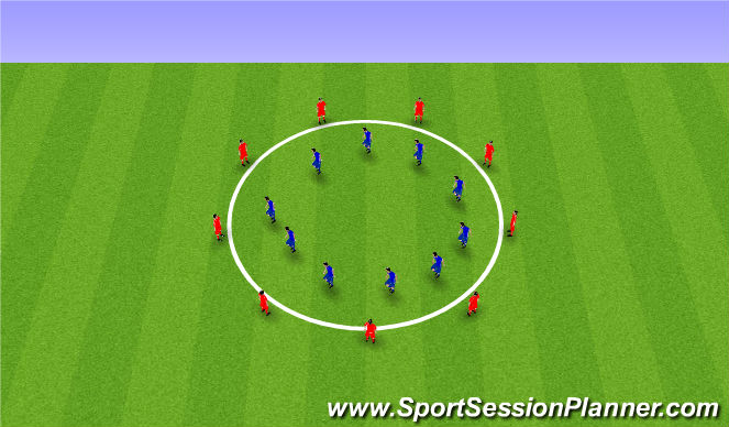 Football/Soccer Session Plan Drill (Colour): Сила(статика).