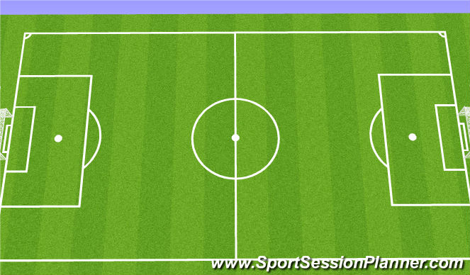 Football/Soccer Session Plan Drill (Colour): Details