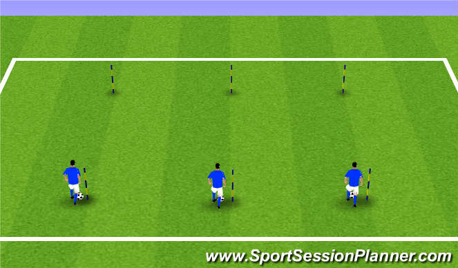 Football/Soccer Session Plan Drill (Colour): Crew Individual Work