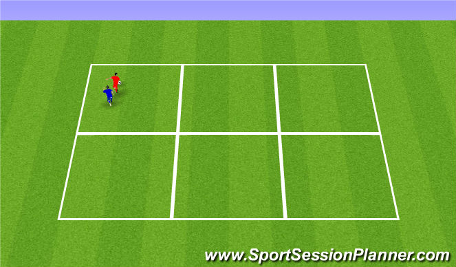 Football/Soccer Session Plan Drill (Colour): Sheilding