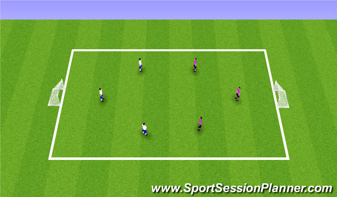 Football/Soccer Session Plan Drill (Colour): Brasilian Soccer