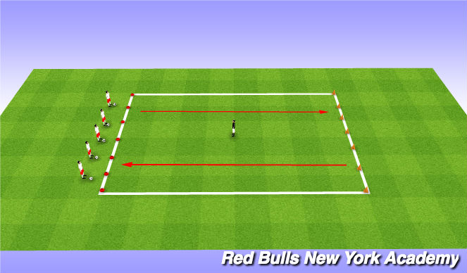 Football/Soccer Session Plan Drill (Colour): Red,Green,Yellow Light W/ Police officer
