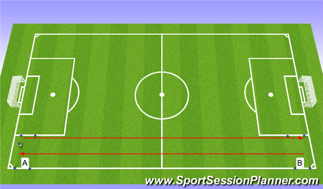 Football/Soccer Session Plan Drill (Colour): 15/15