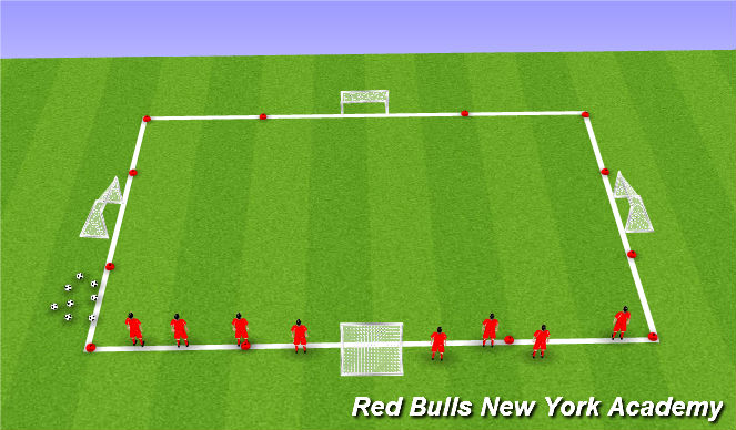 Football/Soccer Session Plan Drill (Colour): Body Movement