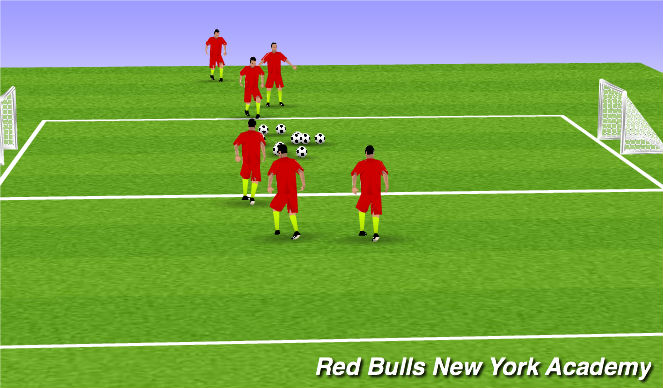 Football/Soccer Session Plan Drill (Colour): Robin Hood