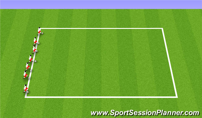 Football/Soccer Session Plan Drill (Colour): ODP U9-U12 8:00-9:00