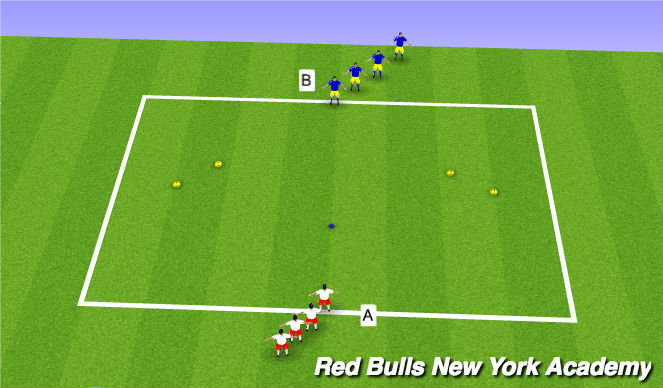 Football/Soccer Session Plan Drill (Colour): SAQ Race