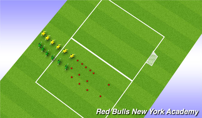 Football/Soccer Session Plan Drill (Colour): Warm up: SAQ