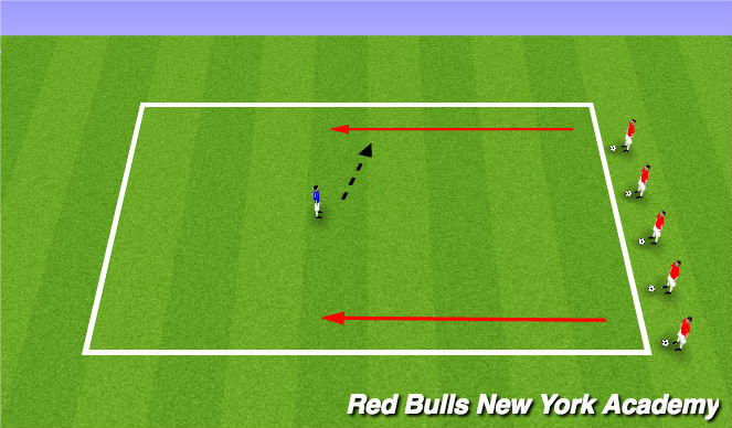 Football/Soccer Session Plan Drill (Colour): Toy Story Escape