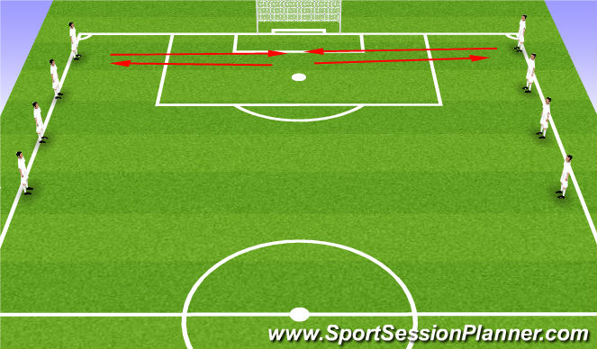 Football/Soccer Session Plan Drill (Colour): Welcome to Fall/Winter Warm Up