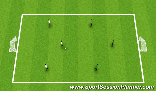 Football/Soccer Session Plan Drill (Colour): Arrival: Street Soccer