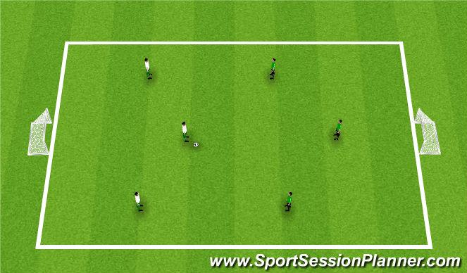 Football/Soccer Session Plan Drill (Colour): Arrival: Street Soccer