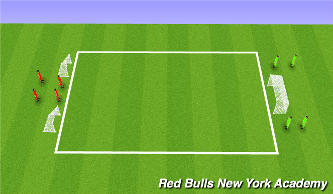 Football/Soccer Session Plan Drill (Colour): Conditioned game- free play
