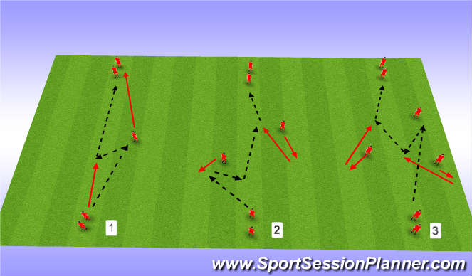 Football/Soccer Session Plan Drill (Colour): Chelsea passing