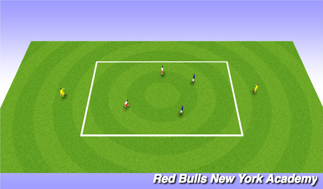 Football/Soccer Session Plan Drill (Colour): Main Actiity