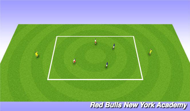 Football/Soccer Session Plan Drill (Colour): Main Actiity