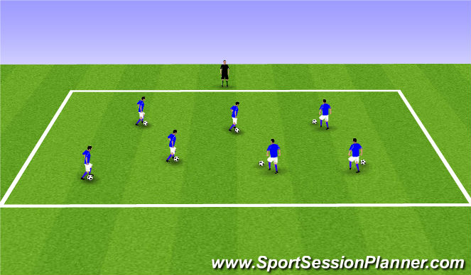 Football/Soccer Session Plan Drill (Colour): ODP Week 4 8;00-9:00