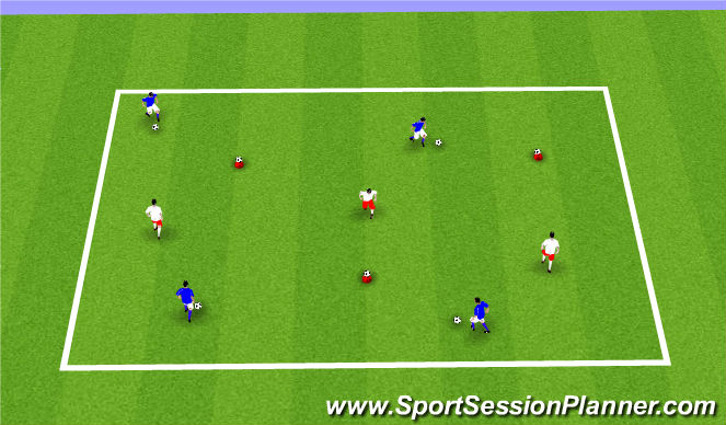 Football/Soccer Session Plan Drill (Colour): ODP 7:00-8:00