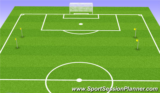 Football/Soccer Session Plan Drill (Colour): Unconditioned