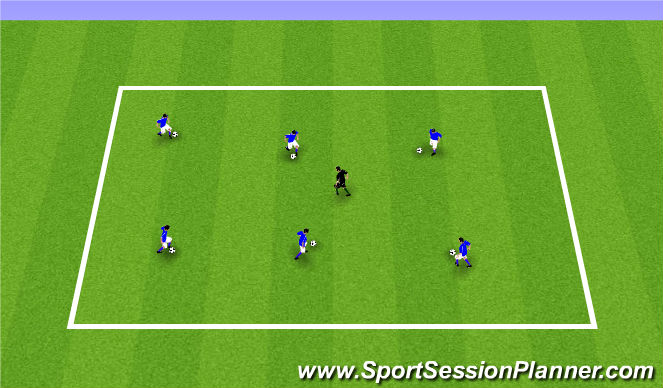 Football/Soccer Session Plan Drill (Colour): ODP Week 11 7:00-8:00