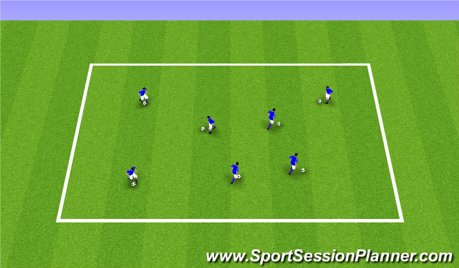Football/Soccer Session Plan Drill (Colour): ODP Week 1 Summer 2017 5:00-6:00