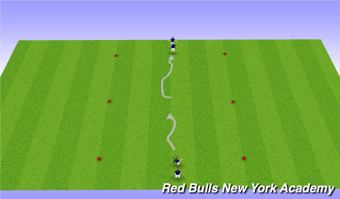 Football/Soccer Session Plan Drill (Colour): Techincal