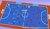 Futsal: PASSING & MOVEMENT BACK & WIDE, Technical: Ball Control Beginner