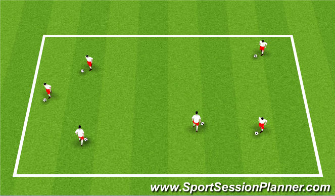 Football/Soccer Session Plan Drill (Colour): ODP Week 9 7:00-8:00