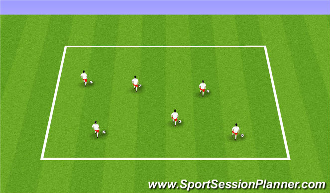 Football/Soccer Session Plan Drill (Colour): ODP Week 10 7:00-8:00