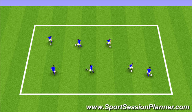 Football/Soccer Session Plan Drill (Colour): ODP Week 1 8:00-9:00