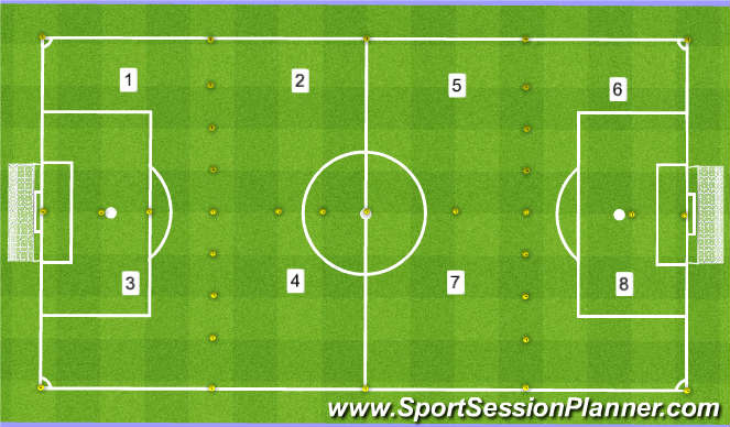 Football/Soccer Session Plan Drill (Colour): 6:30pm CAYA North